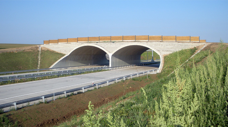 ABM Twin Span Arch over the Prague Bypass